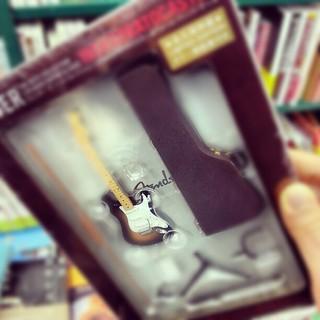 ミニチュアフェンダー #miniature #guitar #fender #music