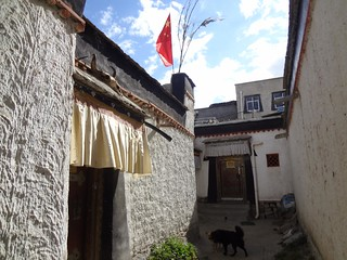 Cidade antiga Shigatse Tibete