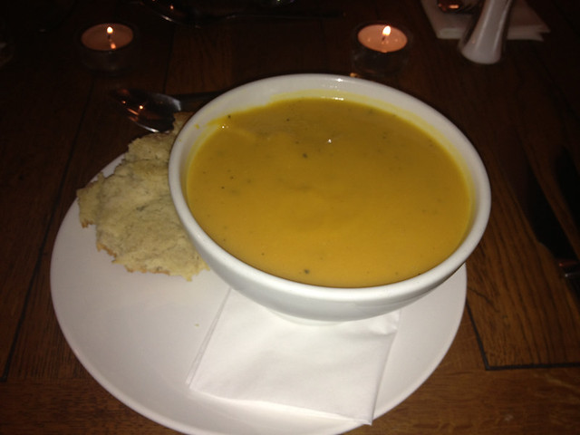 soup, homemade bread, kings arms Cardiff