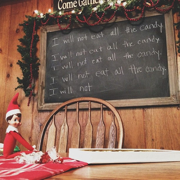 Elf on the Shelf : Day 22