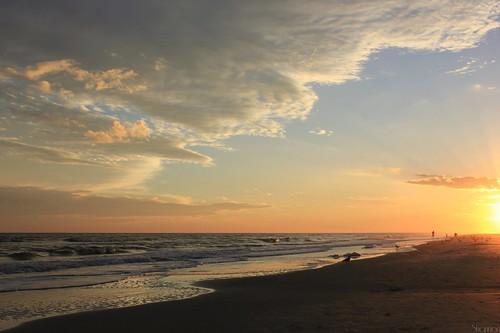 sunset sky clouds southcarolina hiltonheadisland colignybeach canoneosrebelt2i shannonroseoshea 12daysand700milesago explore12222012