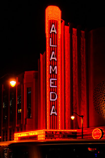 Neon for the Alameda Theater in Alameda, CA