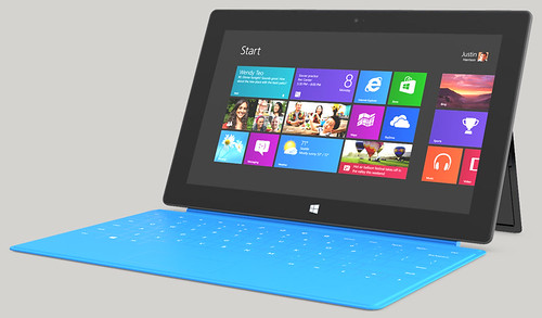 Microsoft Surface: Tablets con Windows RT o Windows 8 Pro