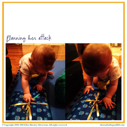 Gates' First Chanukah: Planning Her Attack