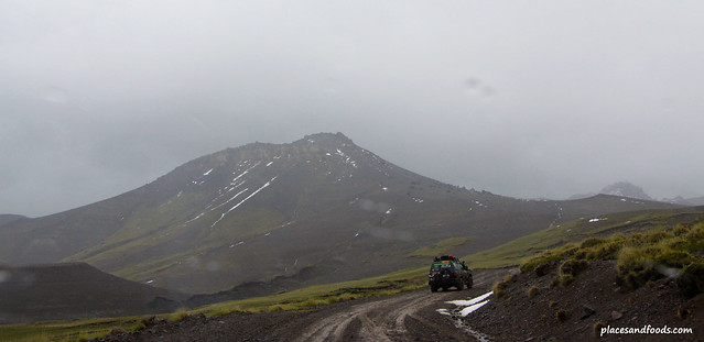 volcanic ashe snow