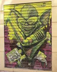 poster(0.0), collage(0.0), modern art(0.0), art(1.0), street art(1.0), sketch(1.0), mural(1.0), graffiti(1.0), drawing(1.0), illustration(1.0),