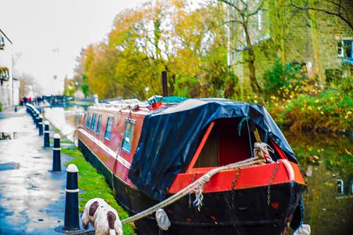 Canal barge, Hebden Bridge