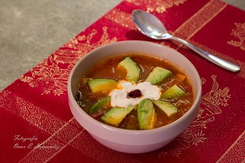 Sopa de tortilla 2