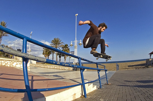 Niklas Funke - Ollie over Rail
