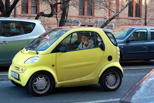Zagreb Got Cute Cars Too It Toally Looked To Me Like The Girl Is Sitting On Back Seat
