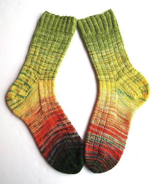 FatCatKnits sock blank socks II
