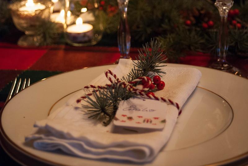 La mesa de Nochebuena