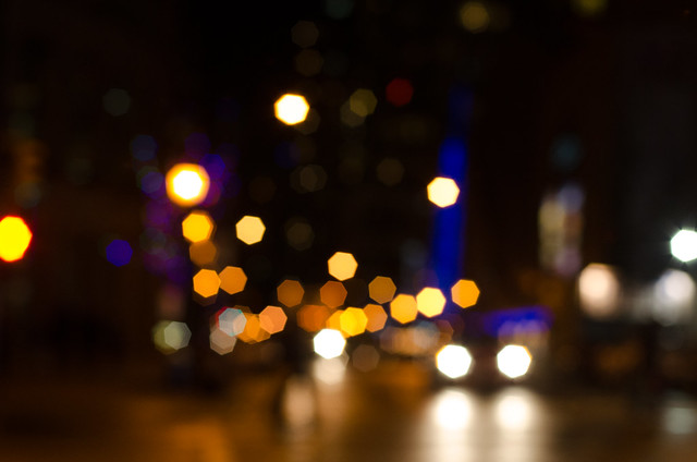 bokeh city lights photo - photo #20