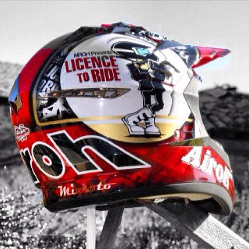 Con ganas.... #airoh #helmet