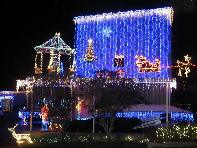 Mount Dora - Boating Center - Christmas Lights (2)