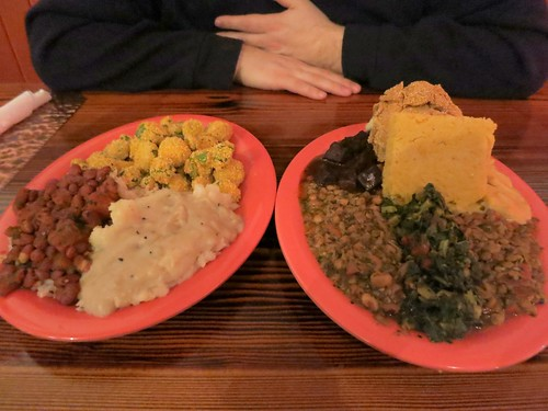 The Everything Plates at Souley Vegan