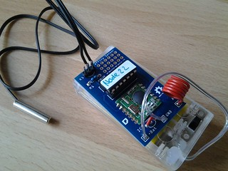 Wireless Attiny Sensor Board