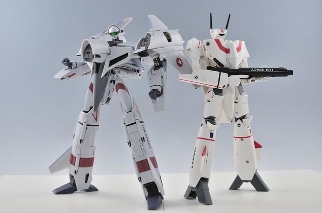 yamato 1/60 VF-4G と VF-1J