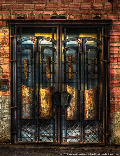 seattle architecture washington doors metalwork pratt centralarea michaelholden prattpark