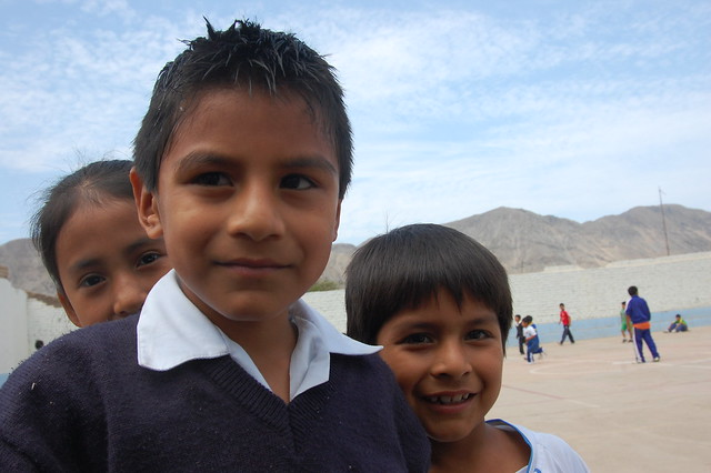 School Kids of Caral