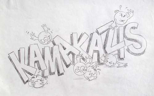 Old Sunmark Wonka Candy Concept Art Kamakazis by gregg_koenig