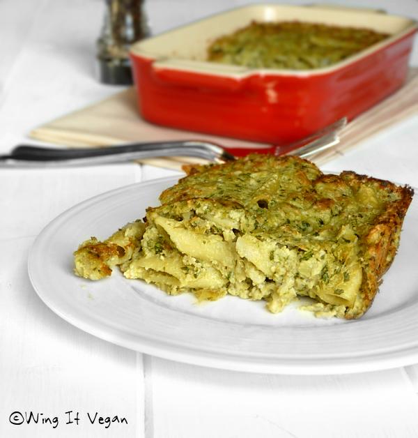 Spinach-Artichoke Dip Pasta Bake