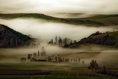 [Free Images] Nature, Hill, Fog / Mist ID:201301070600
