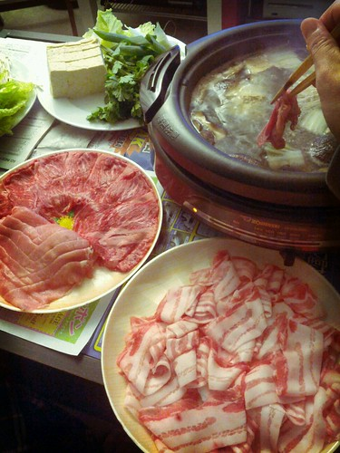 New Year's Eve shabushabu!