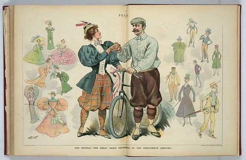 "Puck Magazine - ""Dress Reform"" 1895"