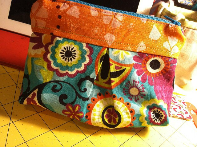 Zippy pouch for stamps