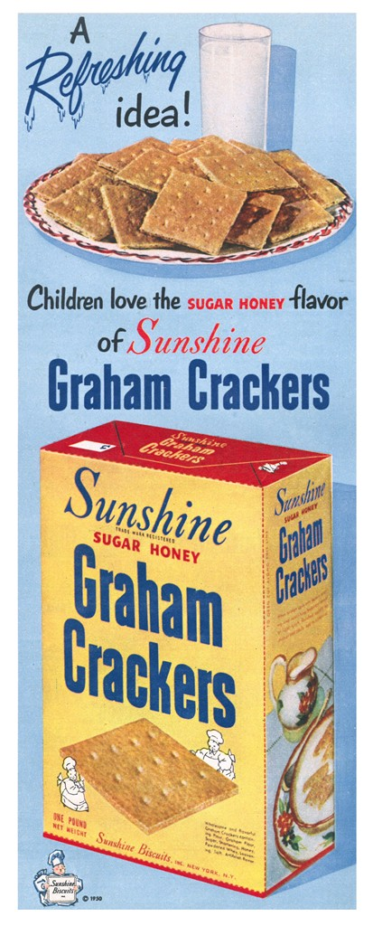 Sunshine Graham Crackers - published in Look - August 15, 1950