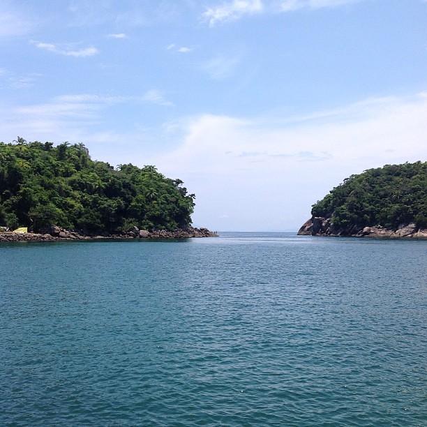 Ilha das Couves #reveillon #2013 #ubatuba #nofilter