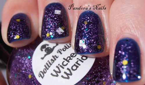 Dollish Polish Wicked Wario over Contrary Polish Bright Night 2