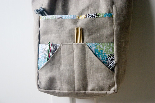 Amanda Bag - pocket detail