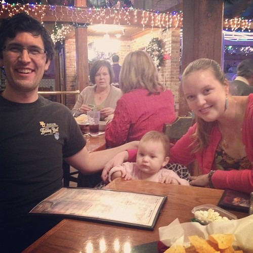 Showing L where the magic happened... Ninfa's: First Datesville