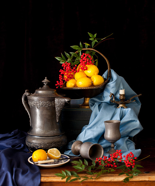 Still Life with Lemons 2