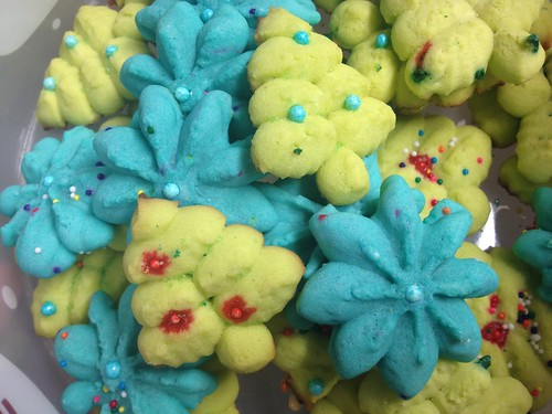 christmas spritz cookies by ceck0face