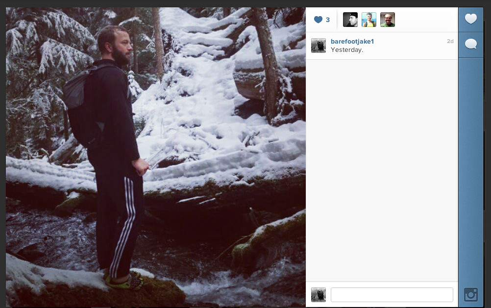 Barefoot Jake Instagram