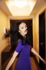 [フリー画像素材] 人物, 女性 - アジア, 女性 - 振り向く ID:201301120800