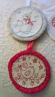 Aurifil Blog Hop Ornaments