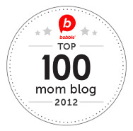 Babble Top 100 Mom Blog of 2012
