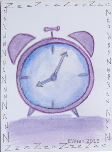 7-365 ATC 2013 alarm clock
