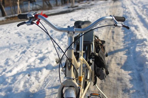 Xtracycle Radish in Winter