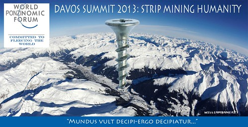 DAVOS SUMMIT 2013 by Colonel Flick/WilliamBanzai7