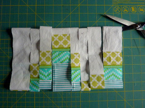 Something New Sampler: Bargello Block