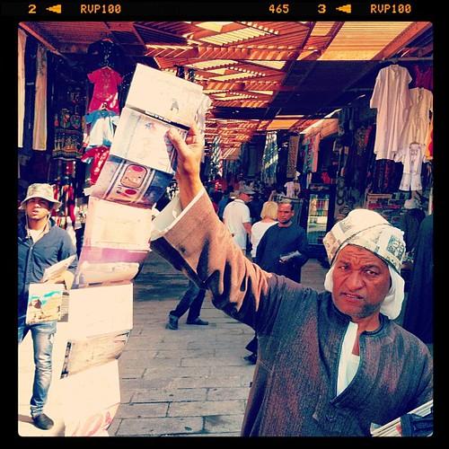 Els veritables reis del mercat #Egipte