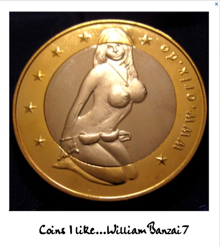 COINS I LIKE by Colonel Flick/WilliamBanzai7