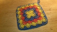 iron craft - pannenlap (dishcloth)