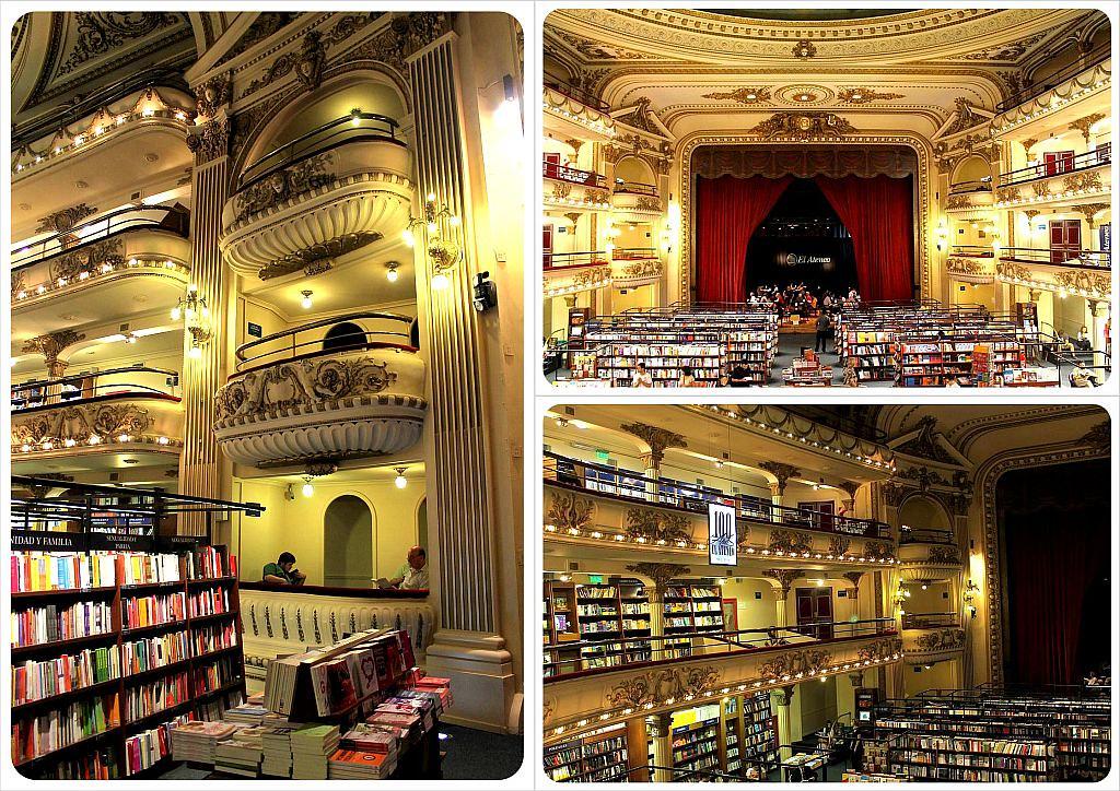 El Ateneo Grand Splendid Book Store Buenos Aires