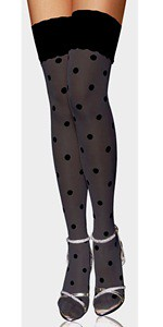 Thumbnail image for Polka Dot Fashion Stocking